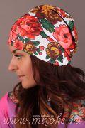 цветок на шапку